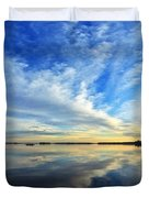 Meddybemps Reflections 4 Duvet Cover by Bill Caldwell -        ABeautifulSky Photography
