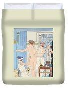 Medical Massage Duvet Cover by Joseph Kuhn-Regnier
