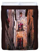 Medieval Architecture Duvet Cover by Elena Elisseeva