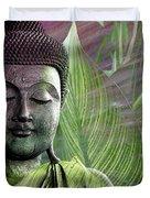 Meditation Vegetation Duvet Cover by Christopher Beikmann