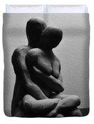 Meditations Duvet Cover by Barbara St Jean