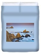 Mermail Reef Duvet Cover by Guido Montanes Castillo