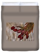 Mes Tulipes Duvet Cover by Aimelle