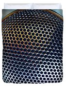 Metal mesh Duvet Cover by Les Cunliffe