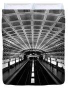 Metro Duvet Cover by Greg Fortier