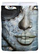 'Mettalic Messiah' Duvet Cover by Christian Chapman Art