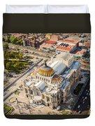 Mexico City Fine Arts Museum Duvet Cover by Jess Kraft