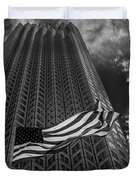 Miami Southeast Financial Center Duvet Cover by Rene Triay Photography
