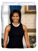 Michelle Obama Duvet Cover by Official White House Photo