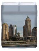 Midtown Atlanta Duvet Cover by Reid Callaway