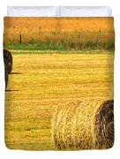 Midwest Farming Duvet Cover by Frozen in Time Fine Art Photography