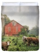 Mifflintown Farm Duvet Cover by Lori Deiter