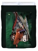 Military Small Arms 02 Ww II Duvet Cover by Thomas Woolworth