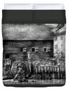 Mill - Sleepy Hollow Ny - By The Mill  Duvet Cover by Mike Savad