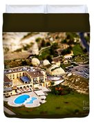 Mini Getaway Duvet Cover by Andrew Paranavitana