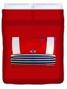 Mini Red Duvet Cover by Aimelle