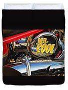 Mister Cool Duvet Cover by Chris Berry