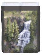 Misty Falls Duvet Cover by Jo-Anne Gazo-McKim