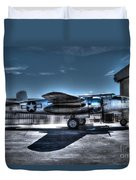 Mitchell B-25j Duvet Cover by Tommy Anderson