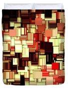 Modern Abstract Art Xvii Duvet Cover by Lourry Legarde