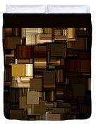 Modern Abstract Iv Duvet Cover by Lourry Legarde