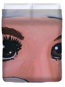 Modesty Duvet Cover by Marisela Mungia
