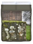 Moldy Above And Below Duvet Cover by Jean Noren