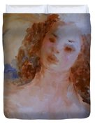 Mom near Jupiter Duvet Cover by Laurie D Lundquist