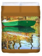 Moment Of Reflection Xi Duvet Cover by Marguerite Chadwick-Juner