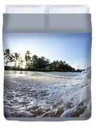 Momentary Foam Creation Duvet Cover by Sean Davey