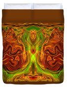 Monarch Butterfly Duvet Cover by Omaste Witkowski