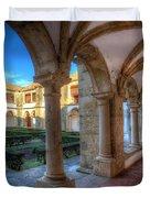Monastery Of Nossa Senhora Da Assuncao Duvet Cover by English Landscapes