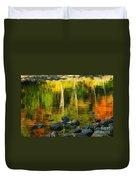 Monet Autumnal 02 Duvet Cover by Aimelle