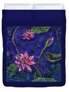 Monet's Lily Pond I Duvet Cover by Xueling Zou