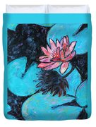 Monet's Lily Pond IIi Duvet Cover by Xueling Zou