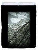 Mont Blanc Glacier Duvet Cover by Frank Tschakert