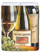 Mont Crystal 1988 Duvet Cover by Debbie DeWitt
