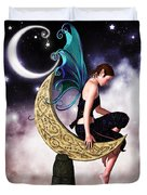 Moon Fairy Duvet Cover by Alexander Butler