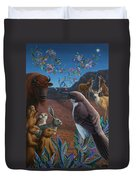 Moonlight Cantata Duvet Cover by James W Johnson