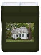 Moore House Yorktown Duvet Cover by Teresa Mucha