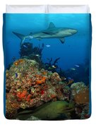 Moray Reef Duvet Cover by Carey Chen