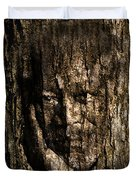 Morgan Freeman Roots digital painting Duvet Cover by Georgeta Blanaru