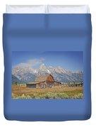 Mormon Barn 2 Duvet Cover by Marty Koch