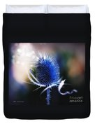 Morning Glory Duvet Cover by Mo T