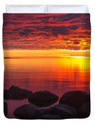Morning Glow Duvet Cover by Mary Amerman