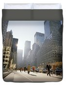 Morning In America Duvet Cover by Shaun Higson
