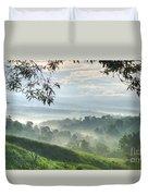 Morning Mist Duvet Cover by Heiko Koehrer-Wagner