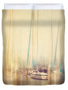 Morning Sail Duvet Cover by Amy Weiss