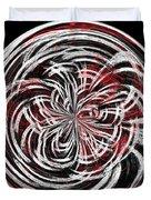 Morphed Art Globe 15 Duvet Cover by Rhonda Barrett