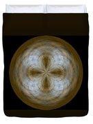 Morphed Art Globe 24 Duvet Cover by Rhonda Barrett